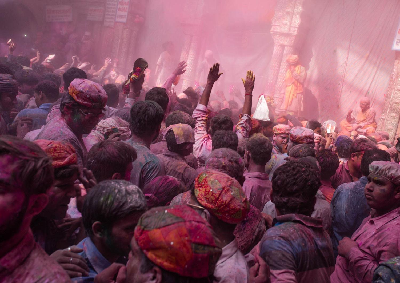 Holi - święto kolorów Vrindavan