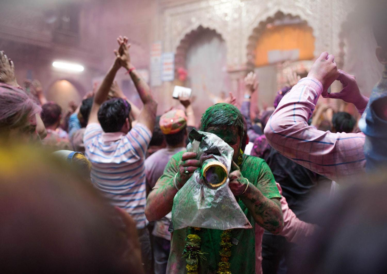Holi - fotografia w Indiach