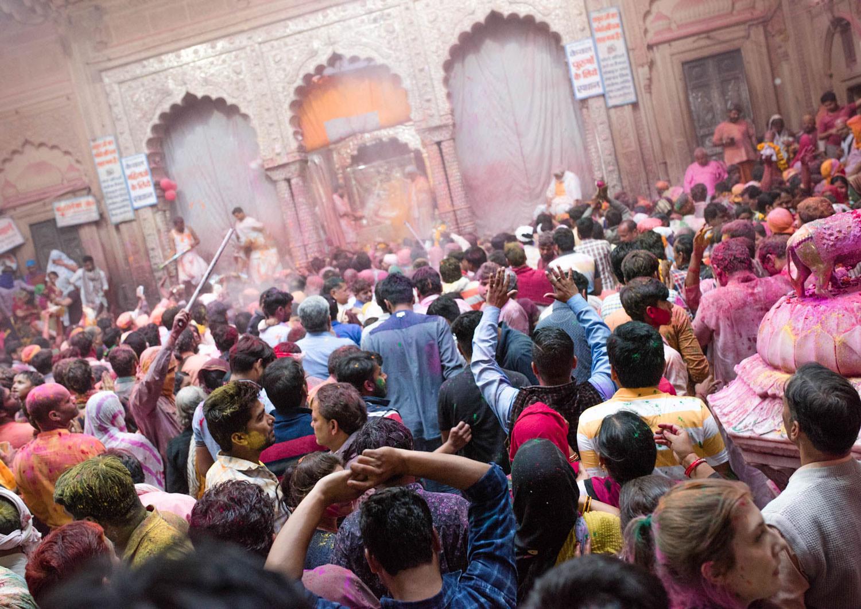 Holi - świątynia Indie