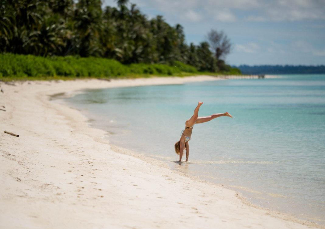 Wyspa Palambak - raj w Indonezji - blog podróżniczy