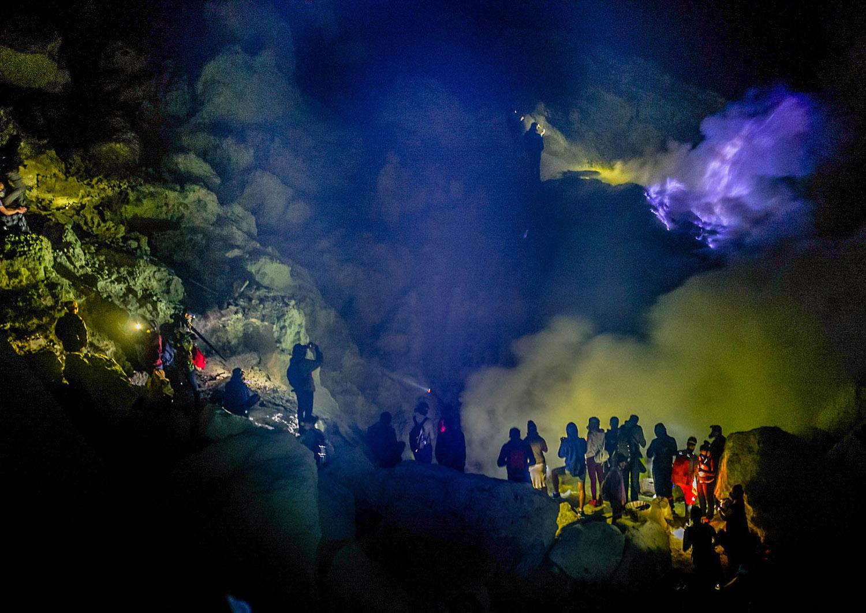Co warto zobaczyć w Indonezji - Ijen - blog podróżniczy