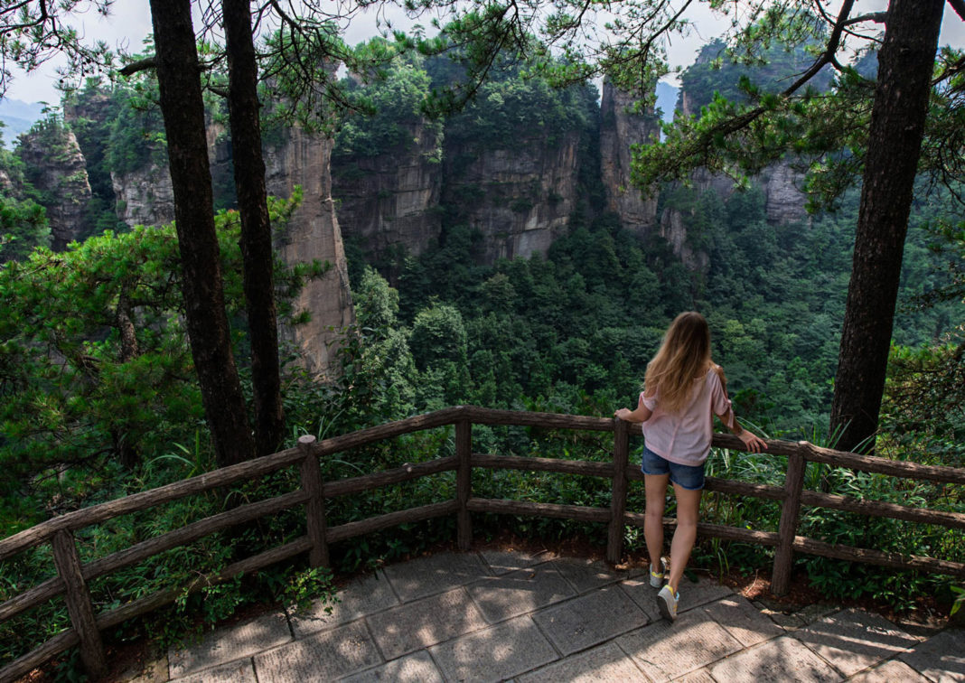 Chiny Zhangjiajie park Avatara - blog podrozniczy