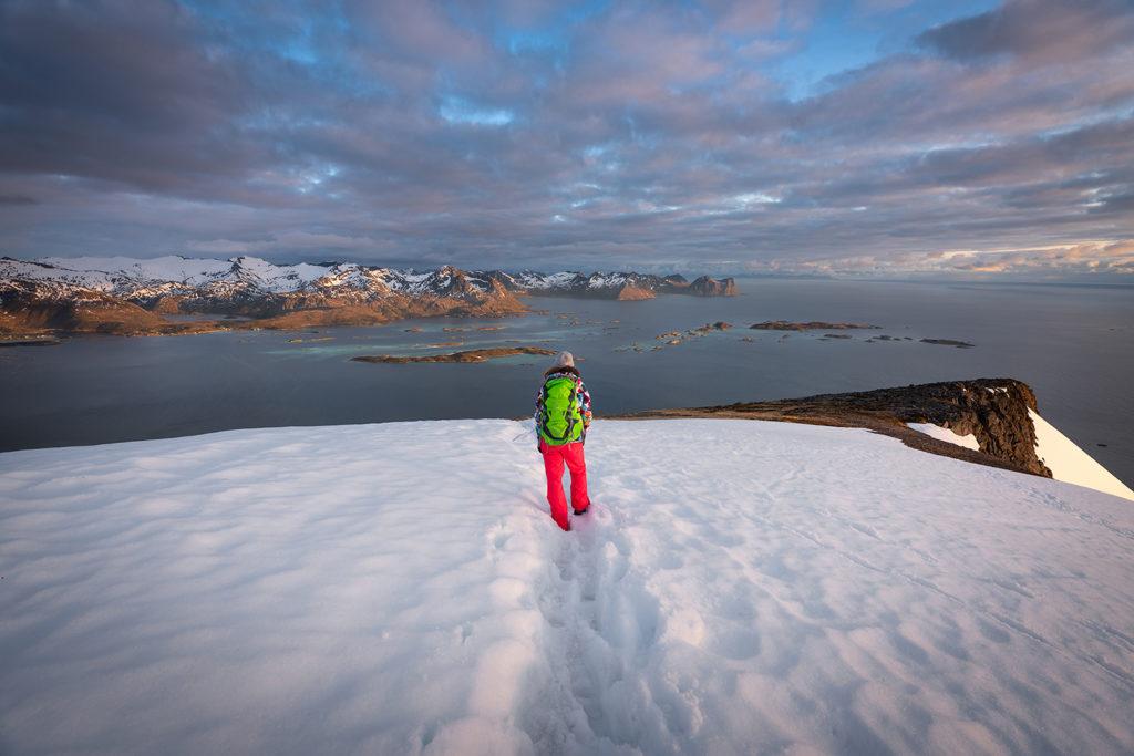 Asia by Matejko. Śnieg na szczycie Husfjellet