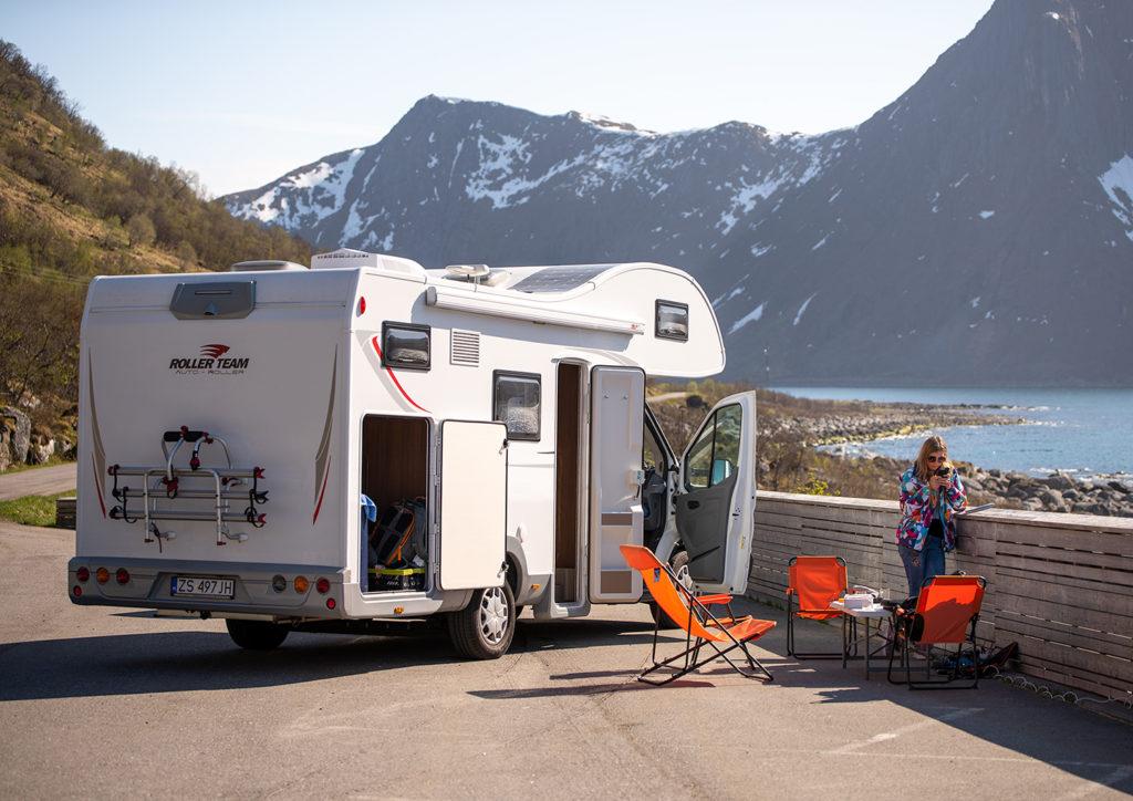 wyjazd kamperem do norwegii