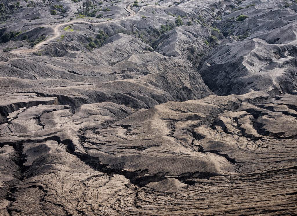 ziemia przy wulkanie bromo