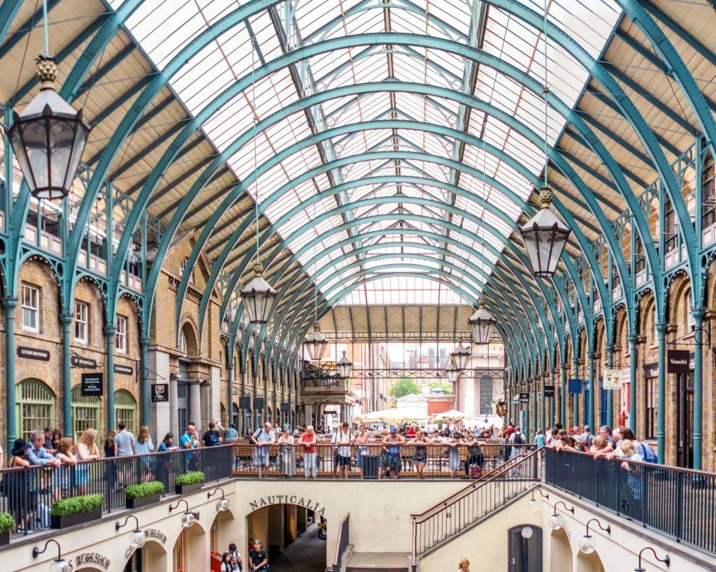 Covent Garden Londyn - blog podrozniczy Asia by Matejko