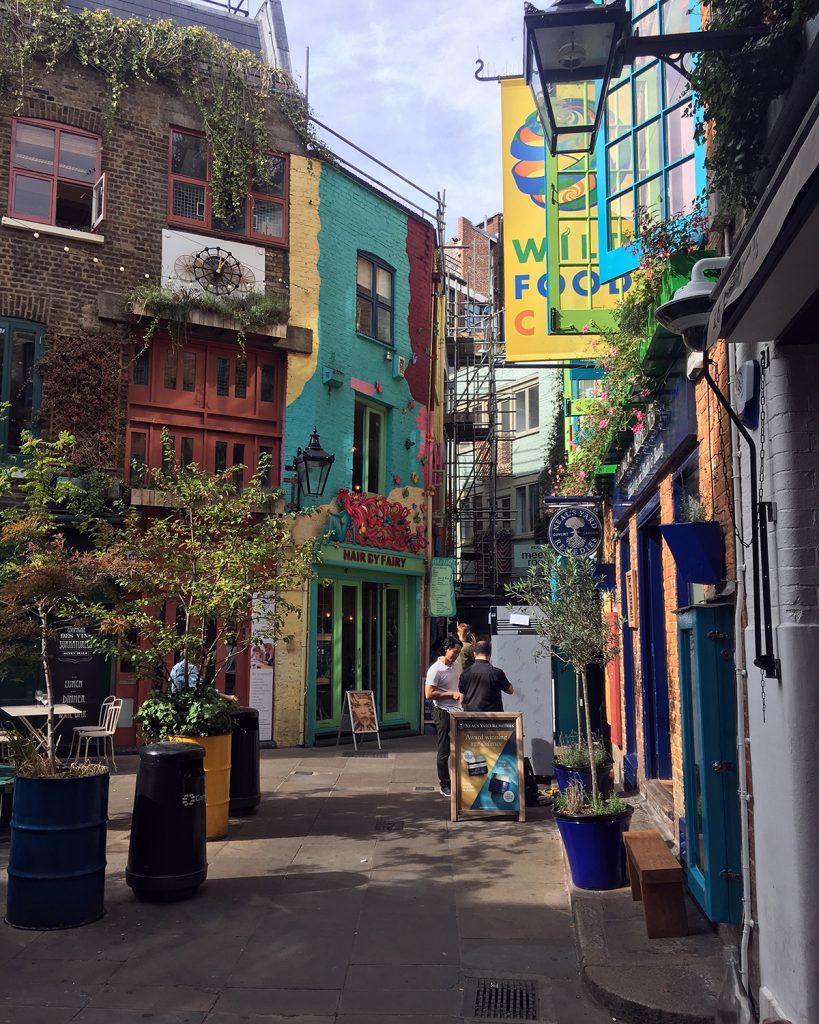 Neal's Yard Londyn - blog podrozniczy Asia by Matejko