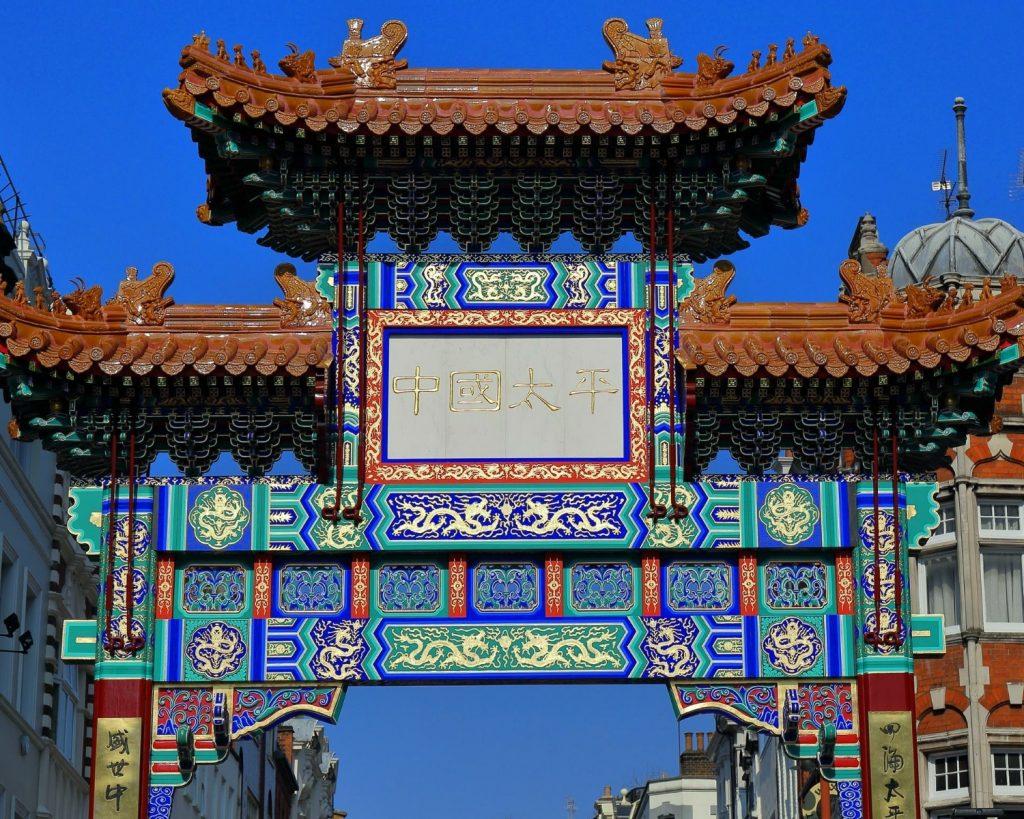 China Town Londyn - blog podrozniczy Asia by Matejko