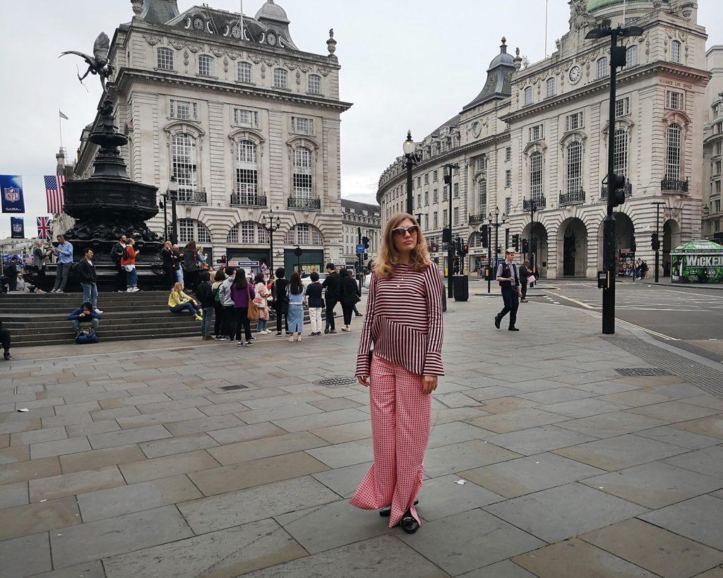 Piccadilly Circus. Londyn blog podróżniczy Asiabymatejko