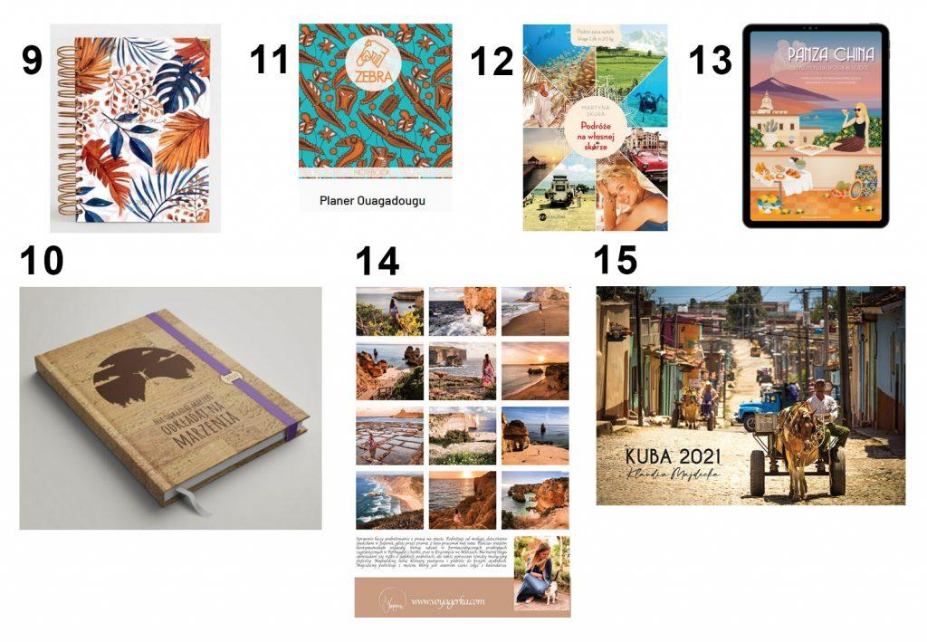 pomysł na prezent notesy, książki, kalendarze