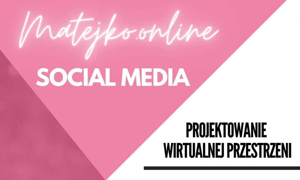 Agencja Social Media Poznan Matejko.online