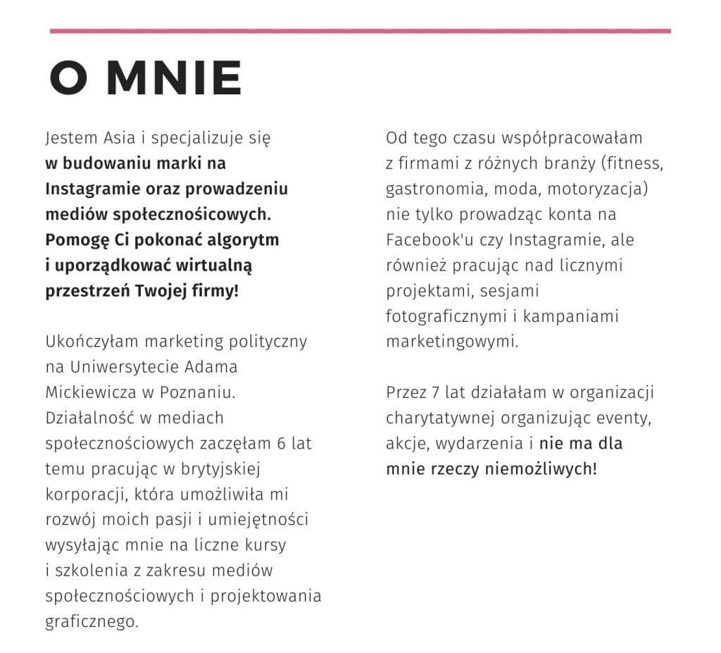 Agencja Instagram Poznan Matejko.online
