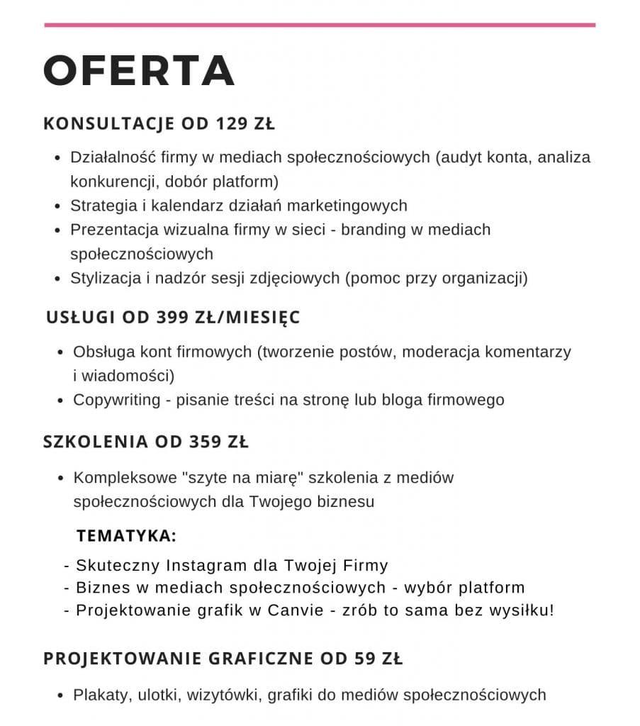 Prowadzenie Instagrama Poznan Matejko.online